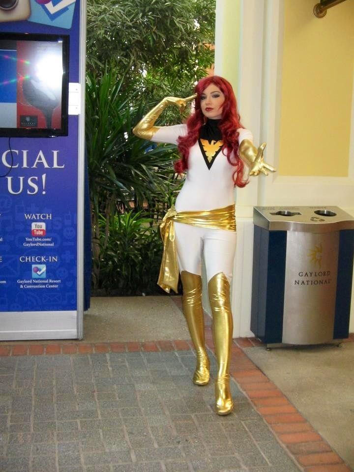 X-Men White Phoenix Jean Grey Costume Catsuit
