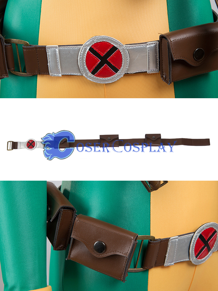 Z Anna Marie Rogue Cosplay Costume Belt