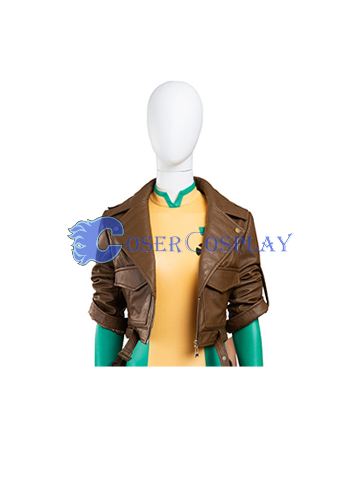 Z Anna Marie Rogue Cosplay Costume Jacket
