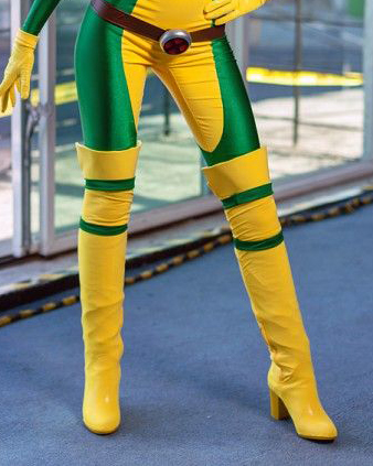 Z Rogue Thigh High Boots Cosplay
