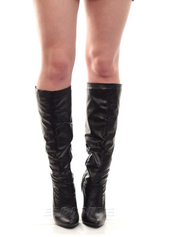 Z15112070b Harley Quinn Cosplay Knee High Boots