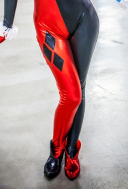 Z15112095 Harley Quinn Cosplay Ankle Boots