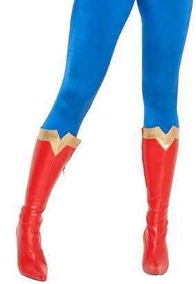 Z16091402 Wonder Woman Cosplay Boots Red