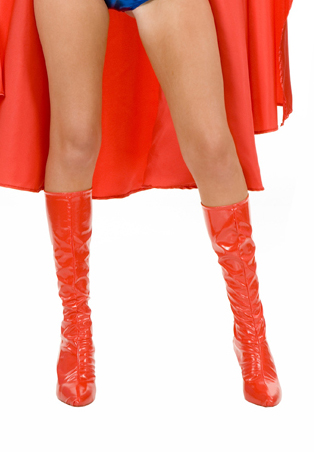 Z16091403 Wonder Woman Red Boots