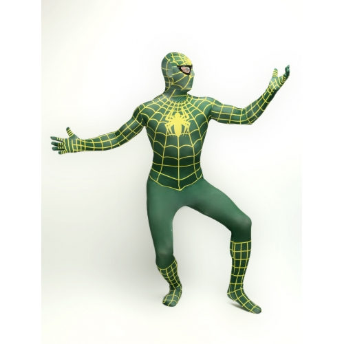Zentai Bodysuit Spiderman Halloween Costume