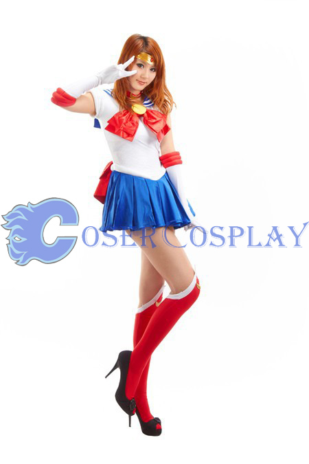 Sailor Moon Crystal Tsukino Usagi Cosplay Costume